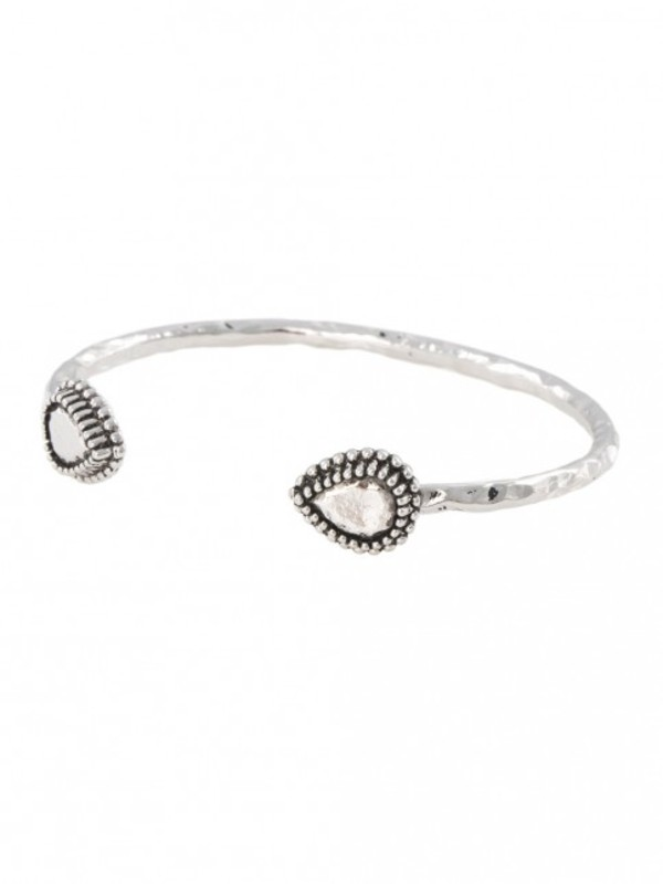 Vanessa Mooney The Storyteller Cuff in Silver