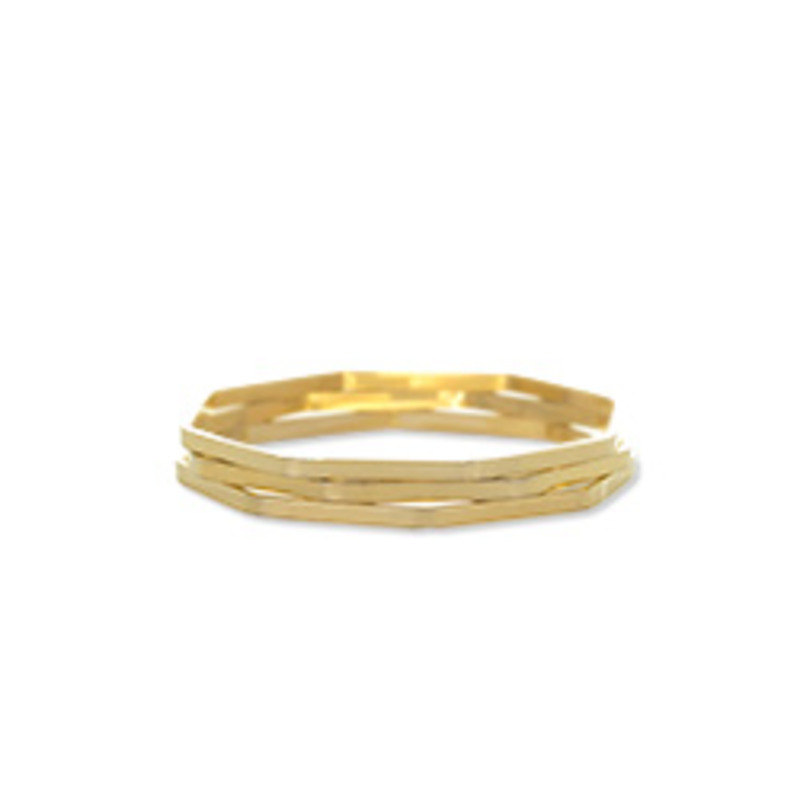 Gamine Sonia Bracelet Set in Gold