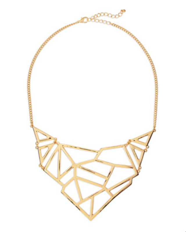 Jules Smith Open Geometric Necklace
