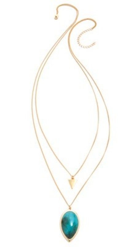 Jules Smith Double Tear Drop Necklace