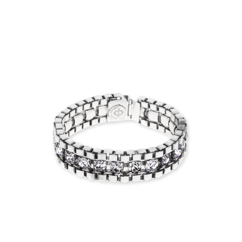 Loren Hope Carly Bracelet in Silver