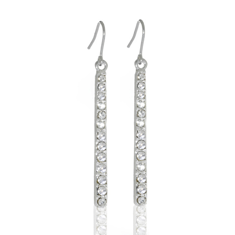 Anuja Tolia Crystal Bar Earrings