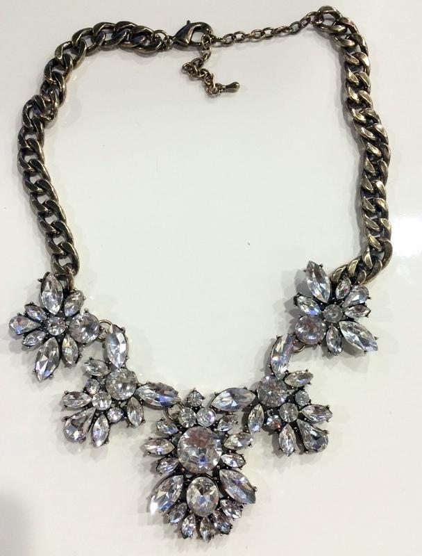 Urban Gem Lily Crystal Necklace