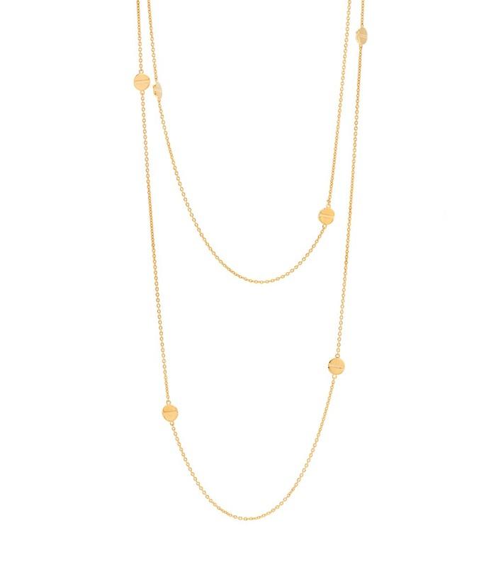 Gorjana Chaplin Wrap Necklace in Gold