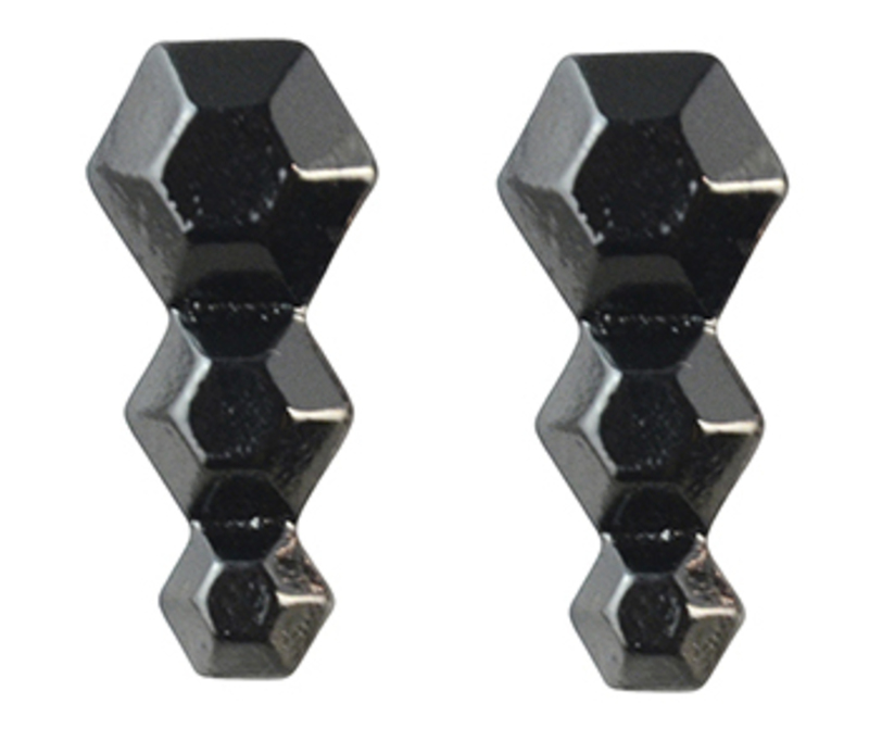 8 Other Reasons 8 Degrees Earring in Gunmetal