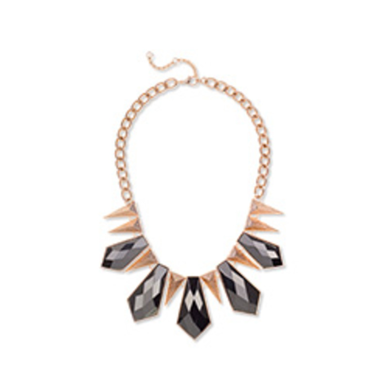 Fortuni Geo Deco Necklace in Gold