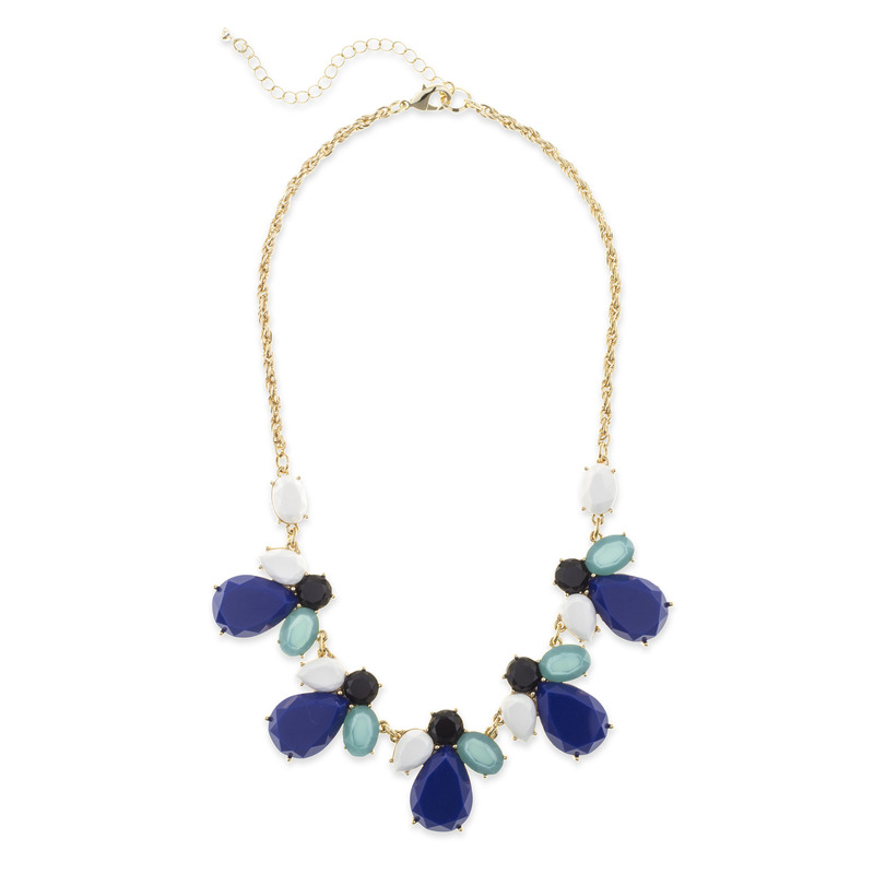 Perry Street Abby Necklace in Blue