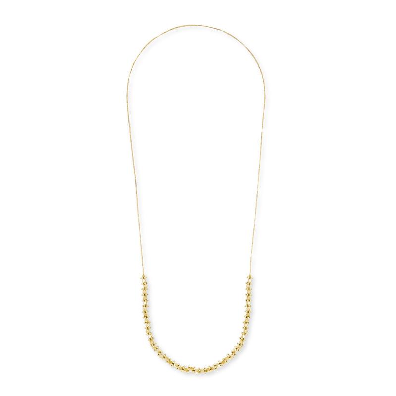 Vanessa Mooney Diamant Necklace in Gold