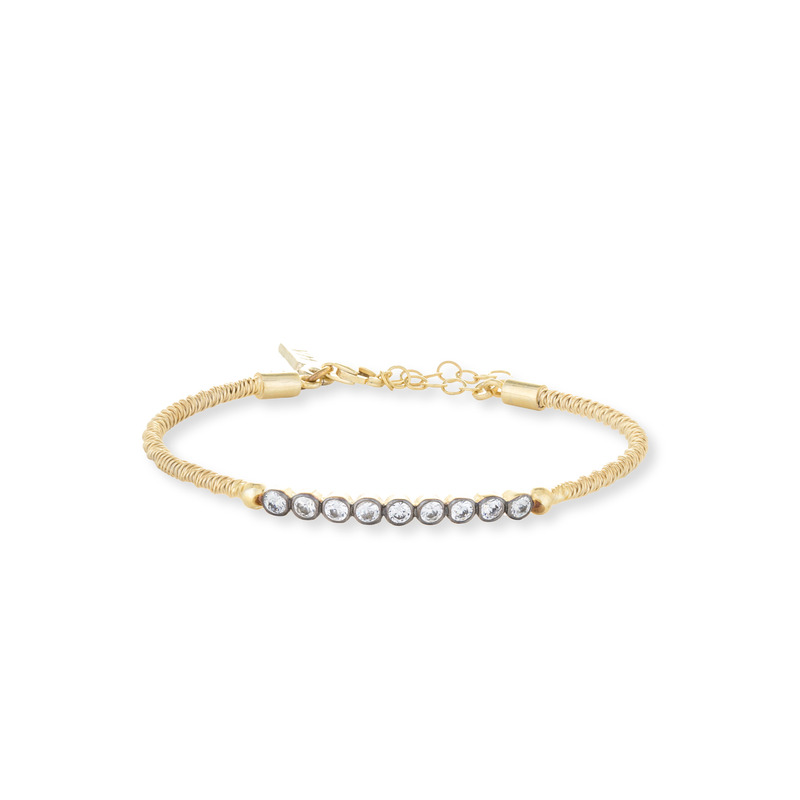 Vanessa Mooney The Castaway Bracelet in Gold