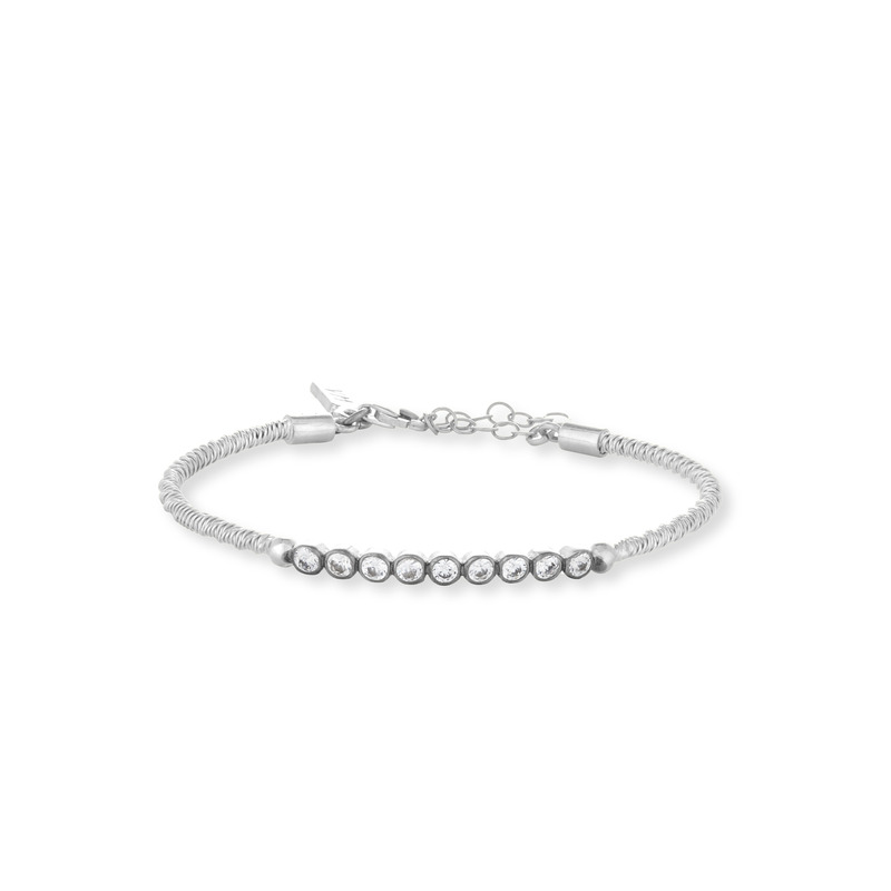 Vanessa Mooney The Castaway Bracelet in Silver