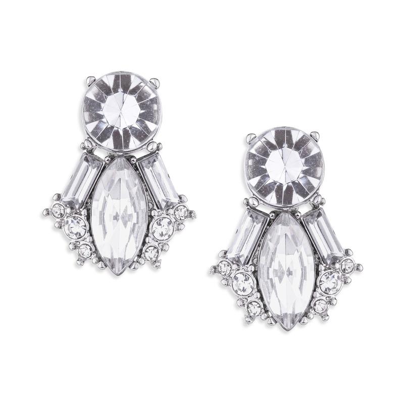 Perry Street Jean Crystal Earrings