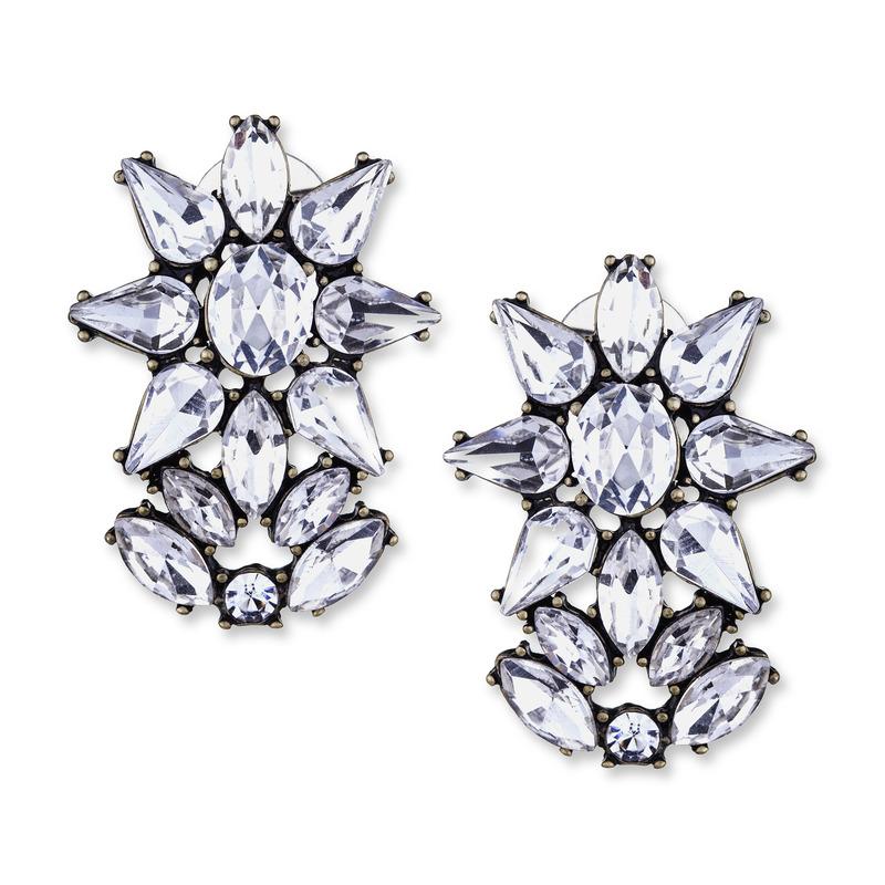 Perry Street Mercer Crystal Earrings