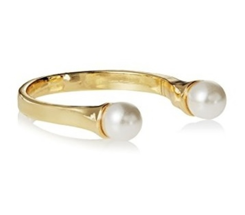 Jules Smith Open Double Pearl Ring