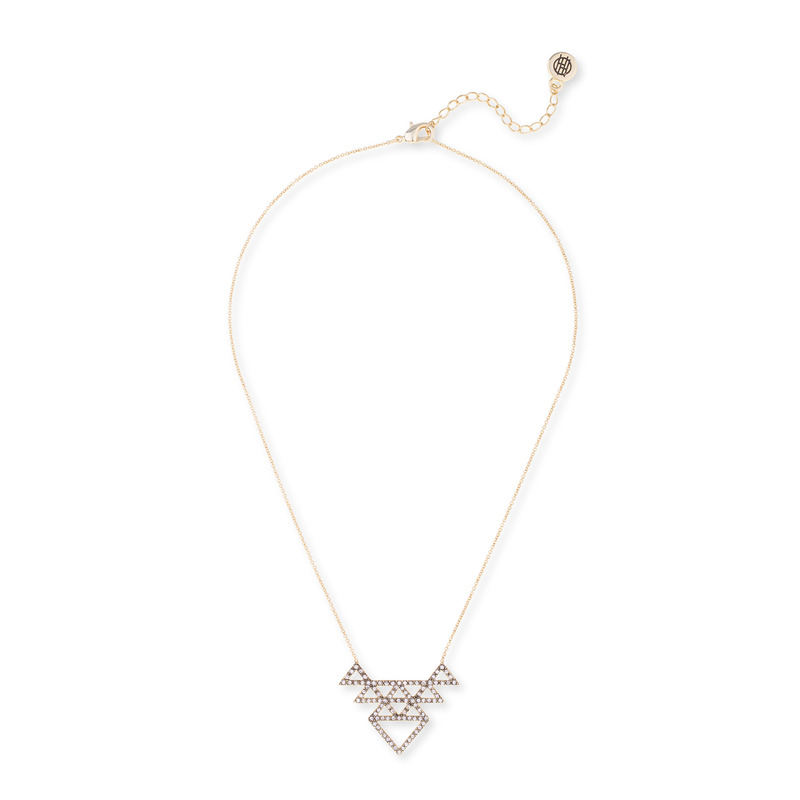 House of Harlow 1960 Tessellation Necklace in Gold