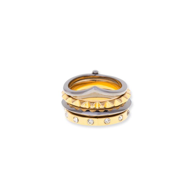 Trina Turk Tritone Flex Stackable Ring