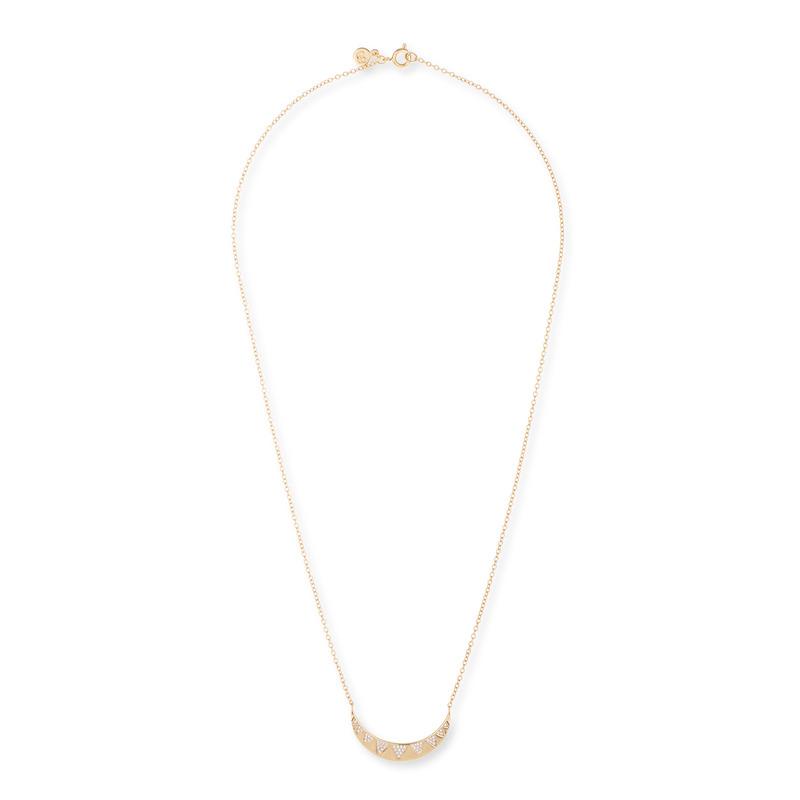 Gorjana Crescent Shimmer Necklace