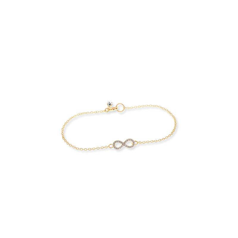 Sophie Harper Pavé Infinity Bracelet