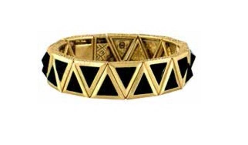 House of Harlow 1960 Aura Tennis Bracelet in Black