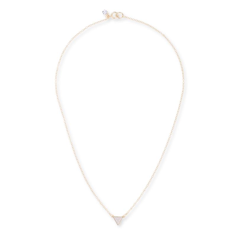 Sophie Harper Pavé Triangle Necklace