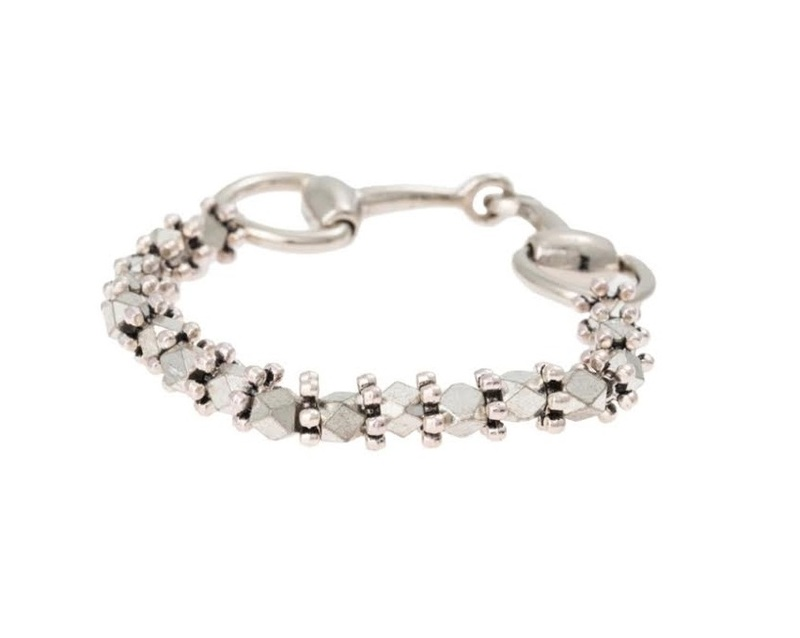Vanessa Mooney Diamant Bracelet in Silver