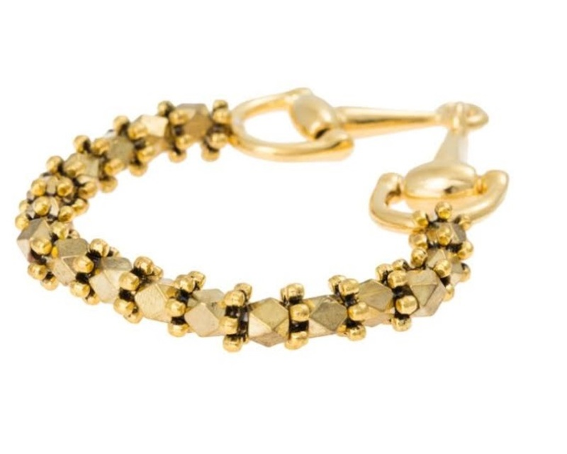Vanessa Mooney Diamant Bracelet in Gold