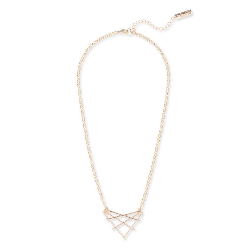 SLATE Geometric Pendant Necklace