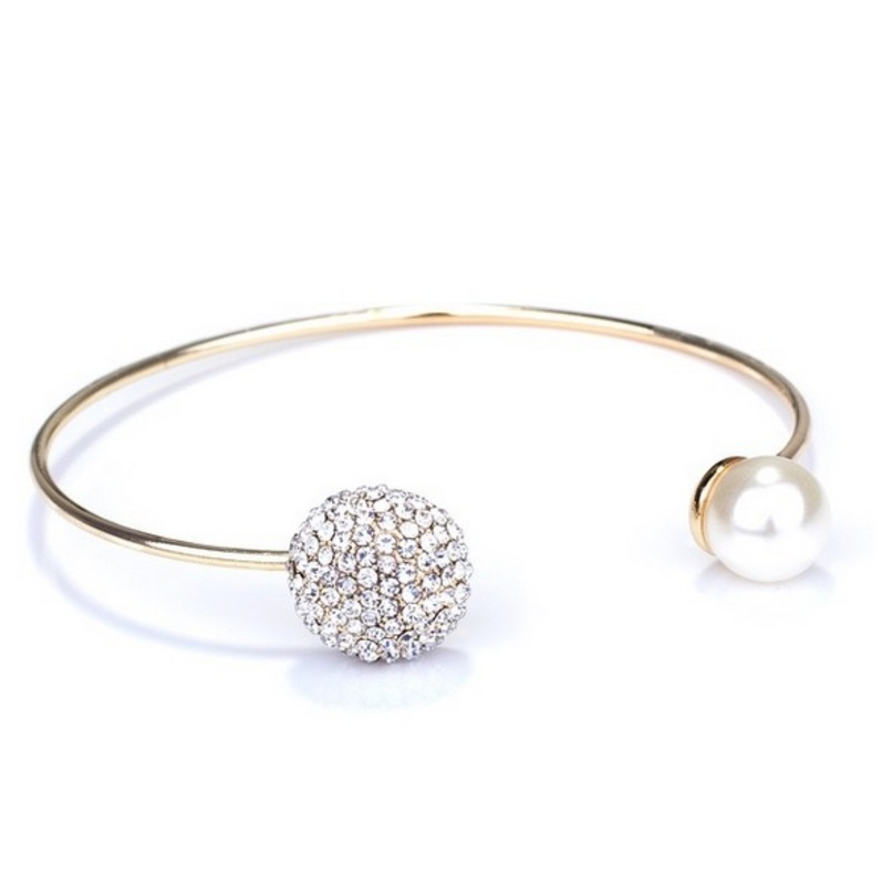 Jules Smith Pavé and Pearl Cuff