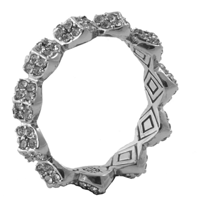 House of Harlow 1960 Sama Stacking Ring in Silver