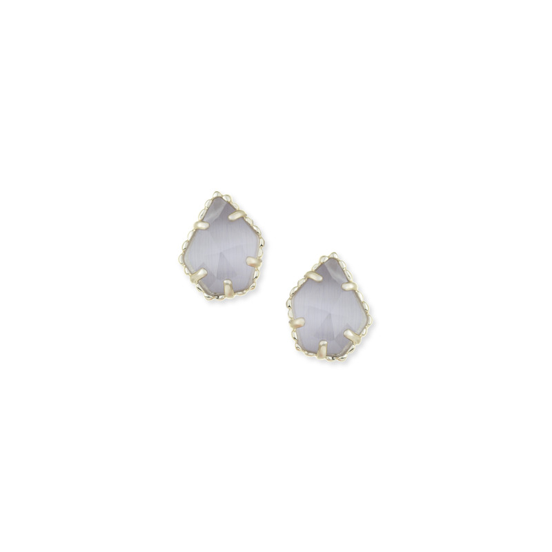 Kendra Scott Tessa Stud Earrings in Slate