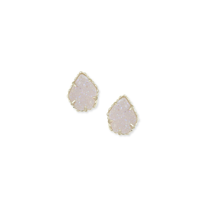 Kendra Scott Tessa Stud Earrings in Iridescent Drusy
