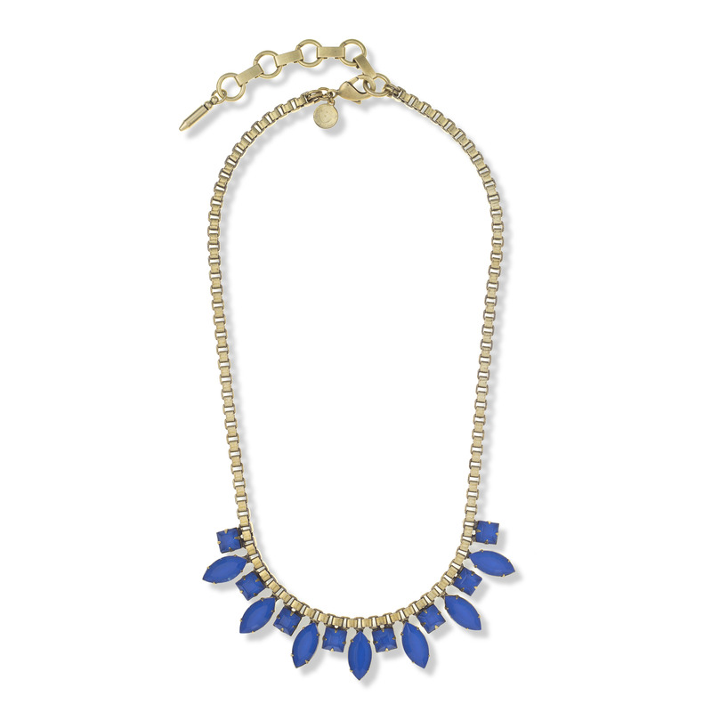 Loren Hope Palmer Necklace in Cobalt