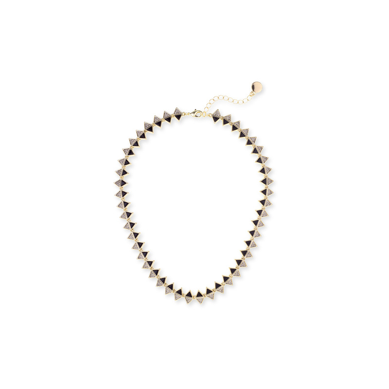 House of Harlow 1960 Ascension Collar Necklace in Black