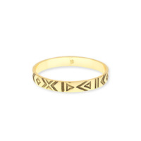 House of Harlow 1960 Symbols and Signs Bangle in Gold