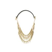 Jenny Bird Palm Cili Collar in Gold