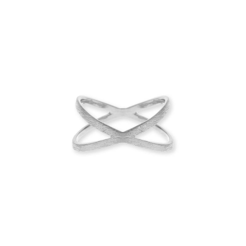 Wanderlust + Co Orbit Silver Ring