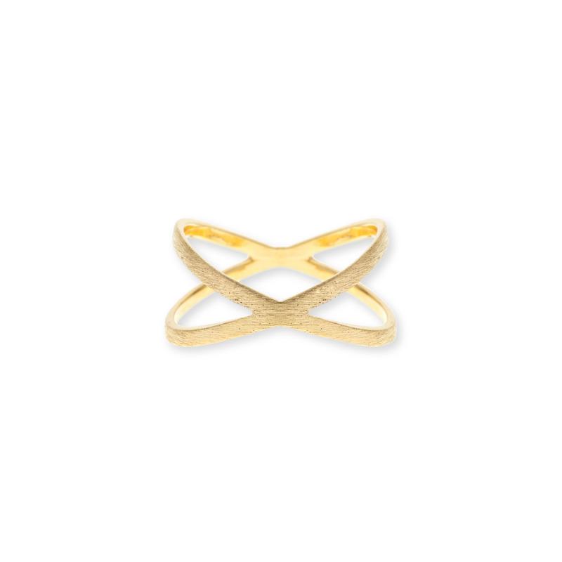 Wanderlust + Co Orbit Gold Ring