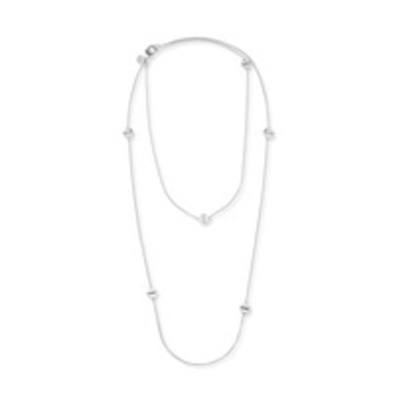 Gorjana Chaplin Wrap Necklace in Silver