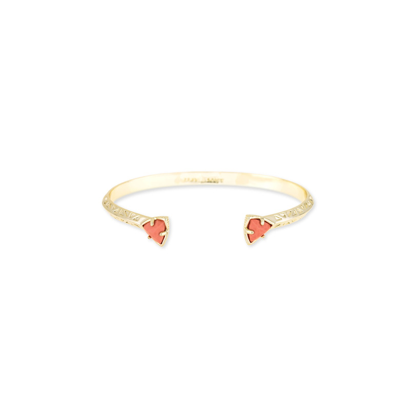 Kendra Scott Grady Bangle in Coral Magnesite