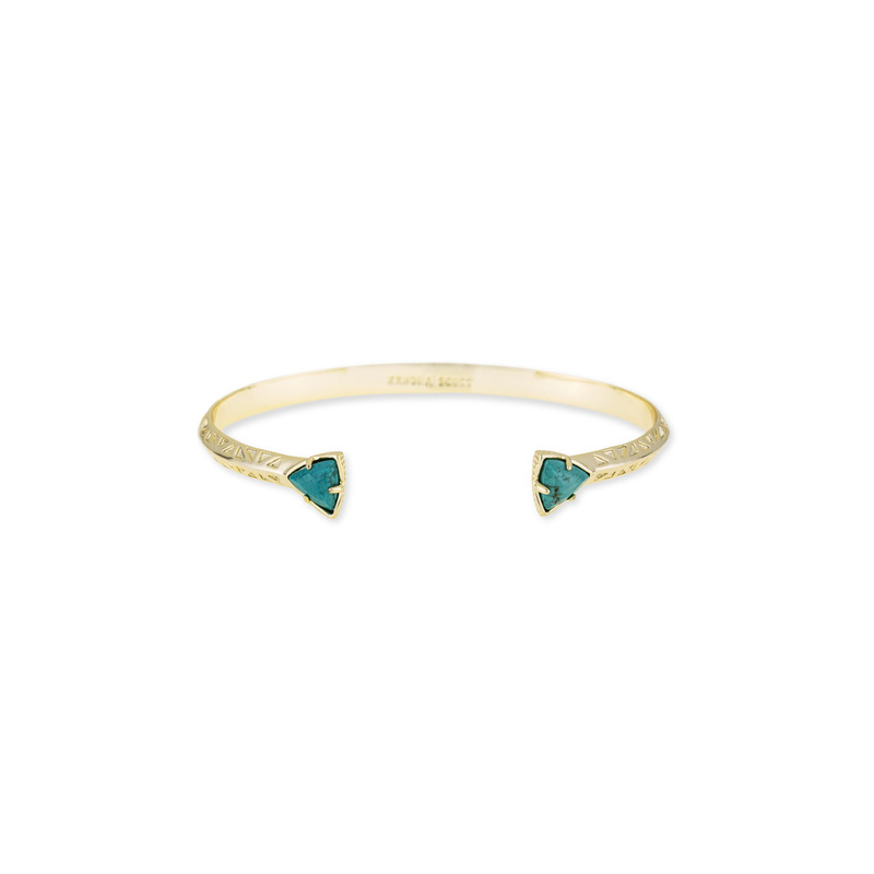 Kendra Scott Grady Bangle in Turquoise Magnesite