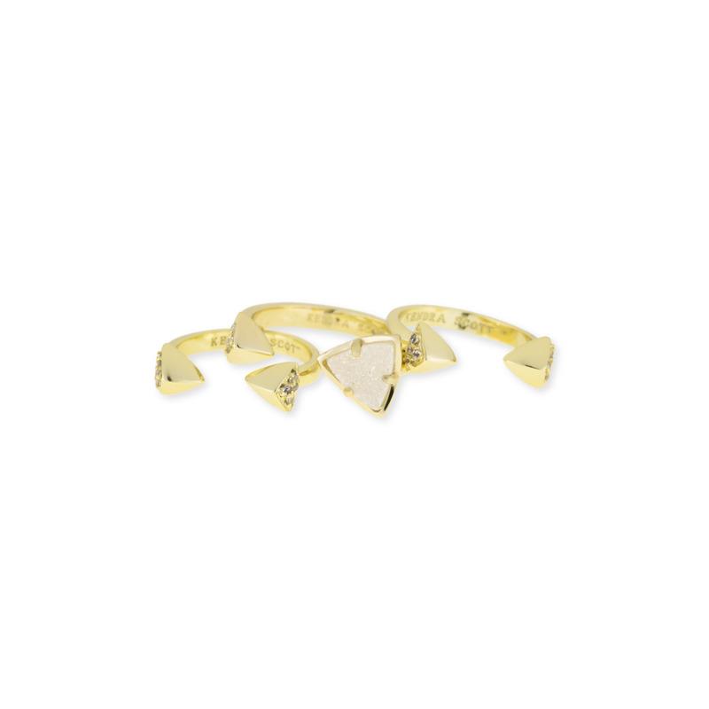 Kendra Scott Brennan Ring Set in Iridescent Drusy