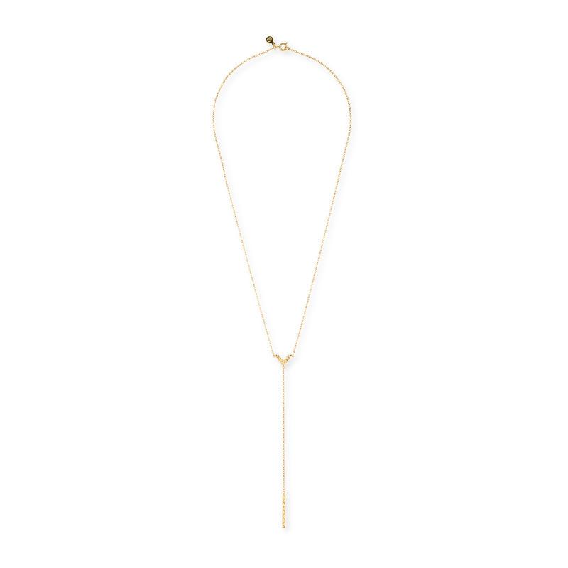 Gorjana Woodburn Lariat Necklace