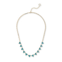 Kendra Scott Andrea Necklace in Turquoise Magnesite