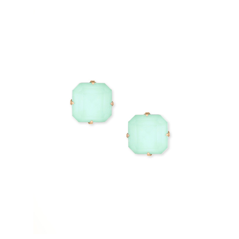 Loren Hope Sophia Studs in Seafoam