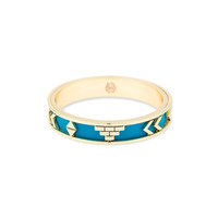 House of Harlow 1960 Aztec Bangle in Teal