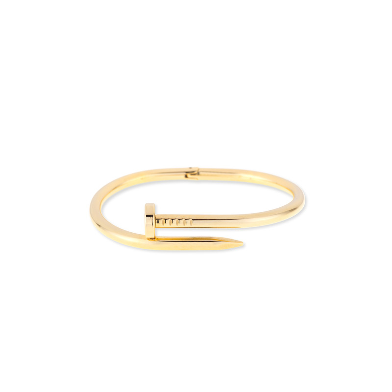 Wanderlust + Co XL Screw-Split Gold Bangle
