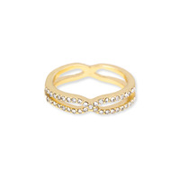 Jules Smith Pave Cinched Ring in Gold