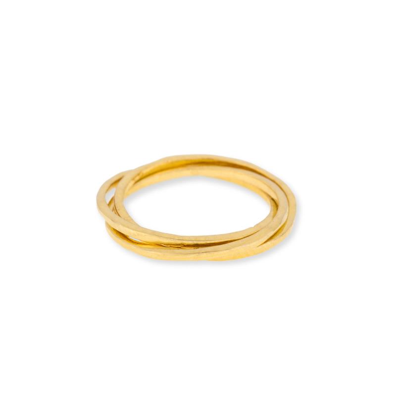 Gorjana Infinity II Ring in Gold