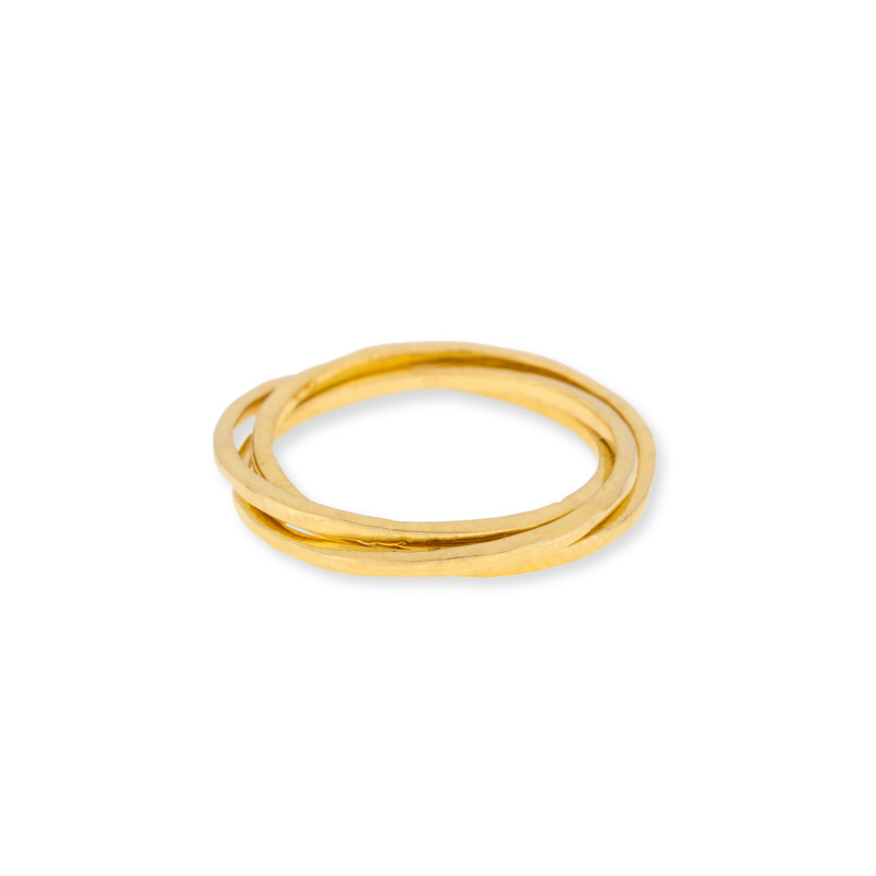 Gorjana Infinity II Ring in Gold