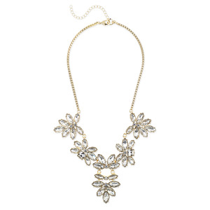 Perry Street Flora Crystal Necklace