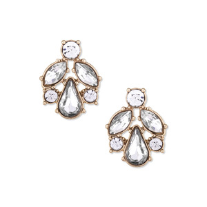 Perry Street Gwen Crystal Studs
